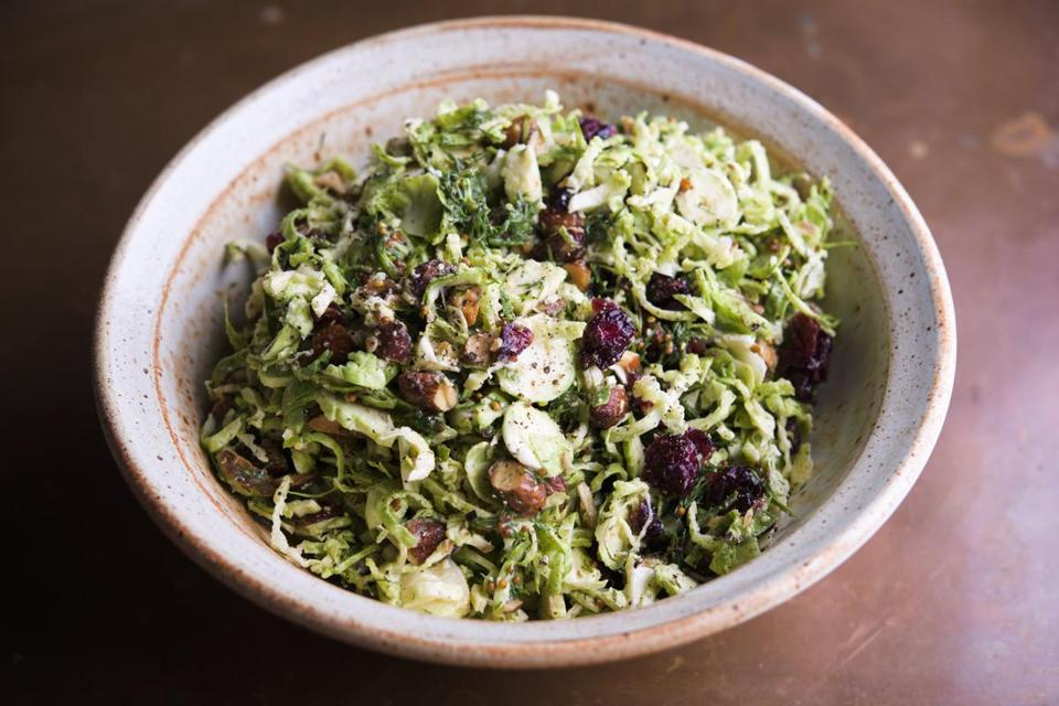 Shaved Brussels Sprouts With Browned-Butter Vinaigrette