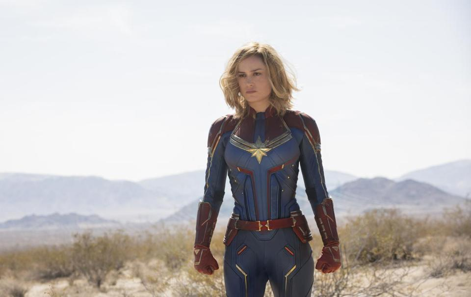 How 'Captain Marvel' nails '90s nostalgia in a Blockbuster video store