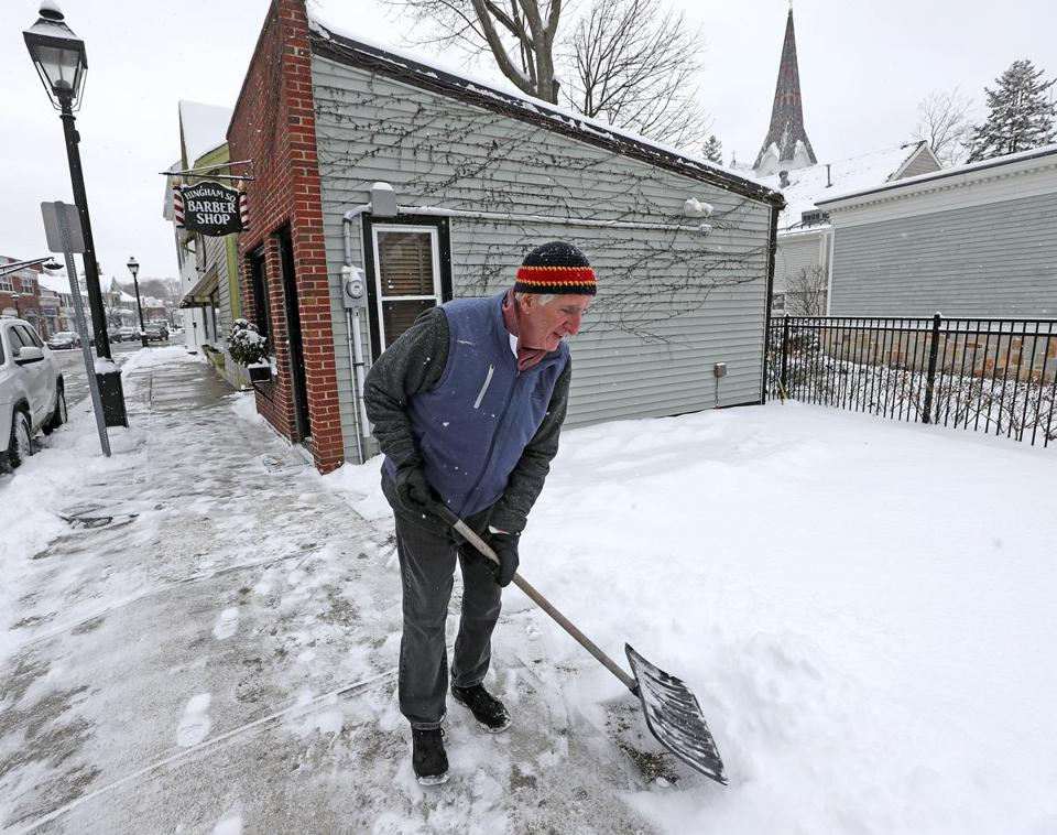 Winter Storm Scott Slams Northeast