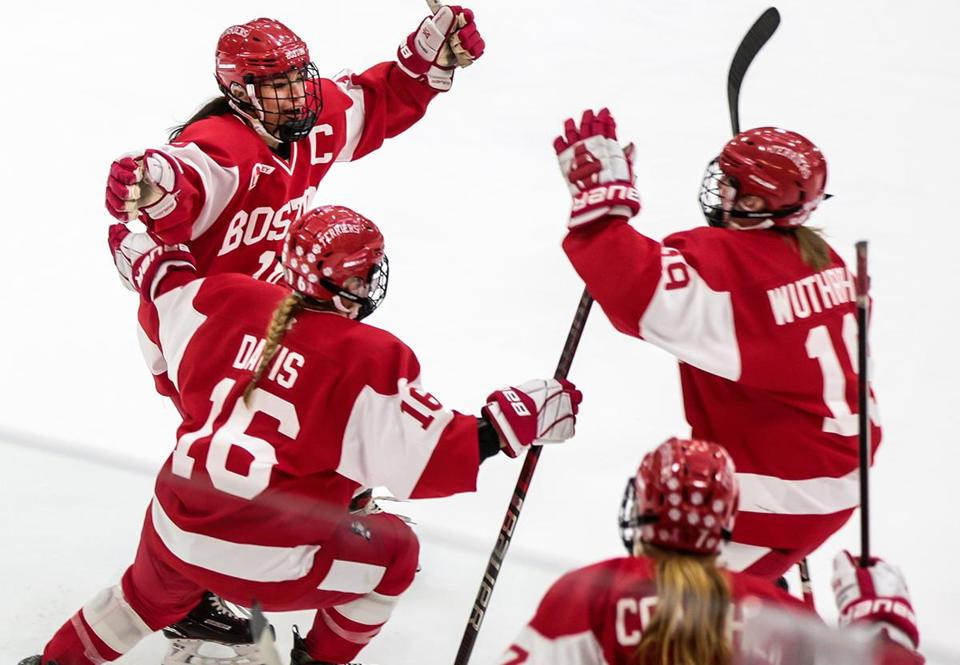 BU won its first women's Beanpot just a few weeks ago.