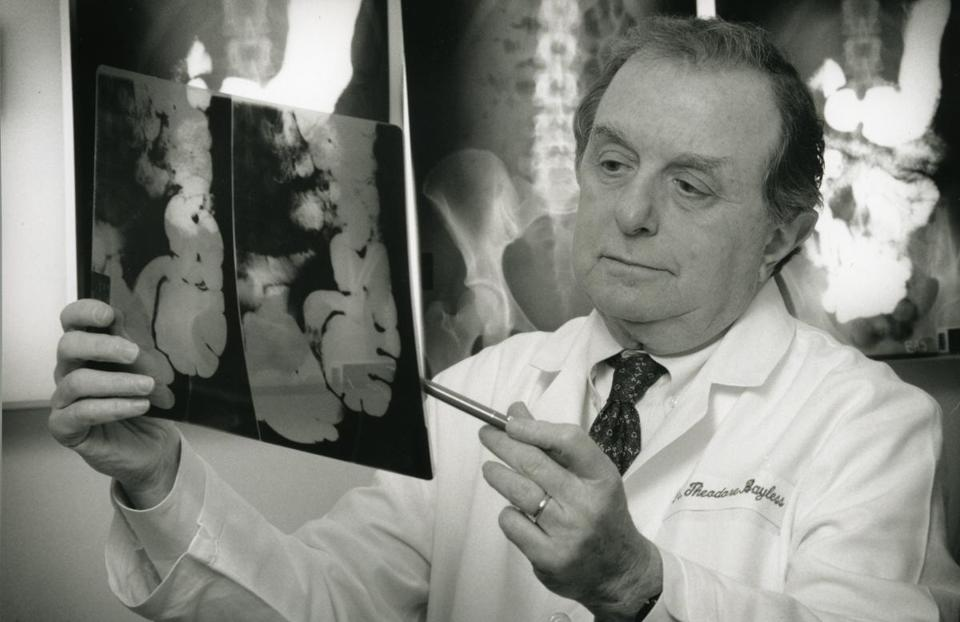 Studies by Dr. Bayless helped in the development of treatments for acute diarrheal diseases and for inflammatory bowel diseases, including ulcerative colitis and Crohn's disease.