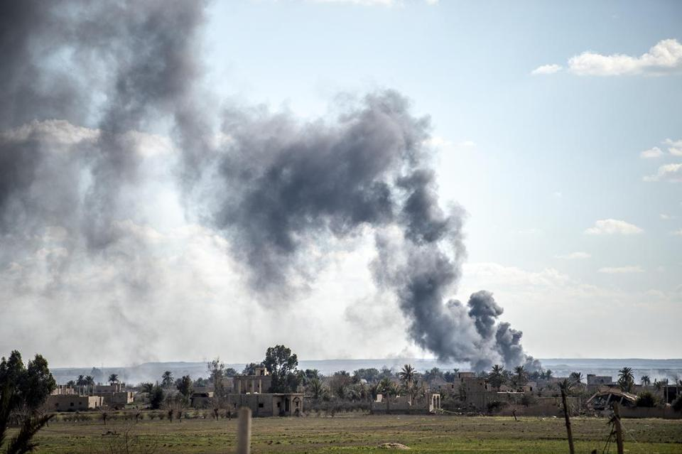 ISIS Faces Final Territorial Defeat in Eastern Syria Battle
