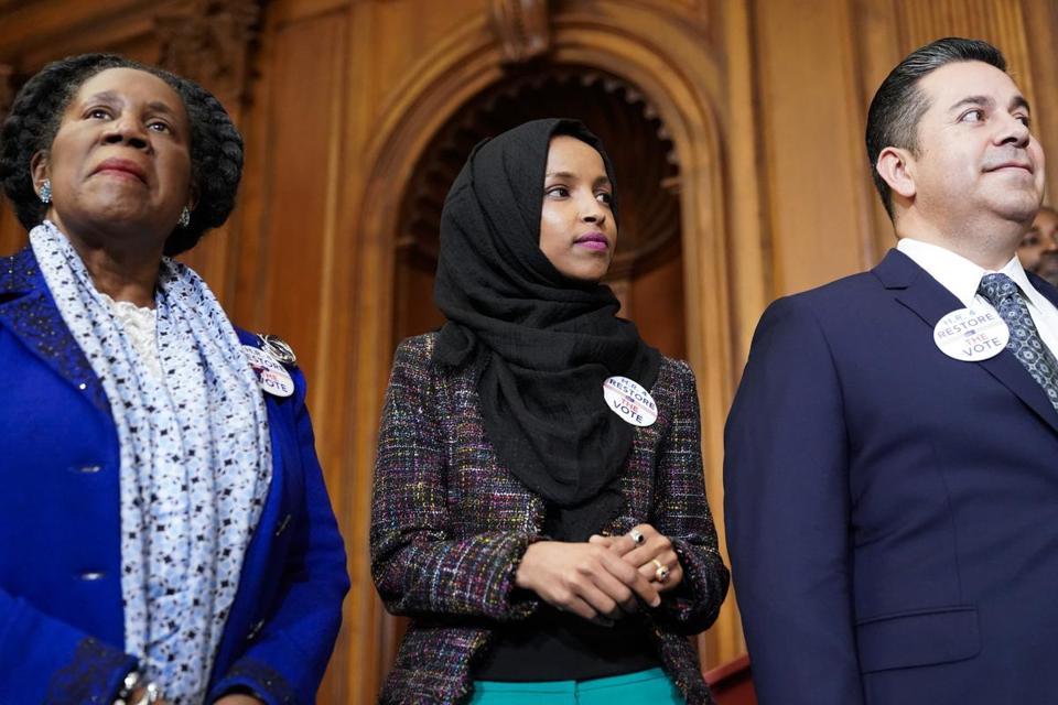Minnesota Representative Ilhan Omar