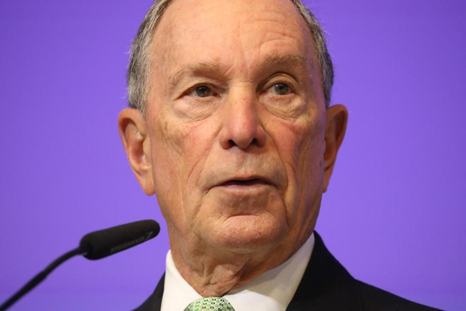 Former NY Mayor Bloomberg to forgo 2020 White House bid