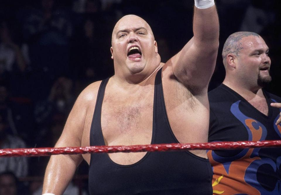 Christopher Pallies, who wrestled as King Kong Bundy, was said to weigh 450 pounds or more in his prime.