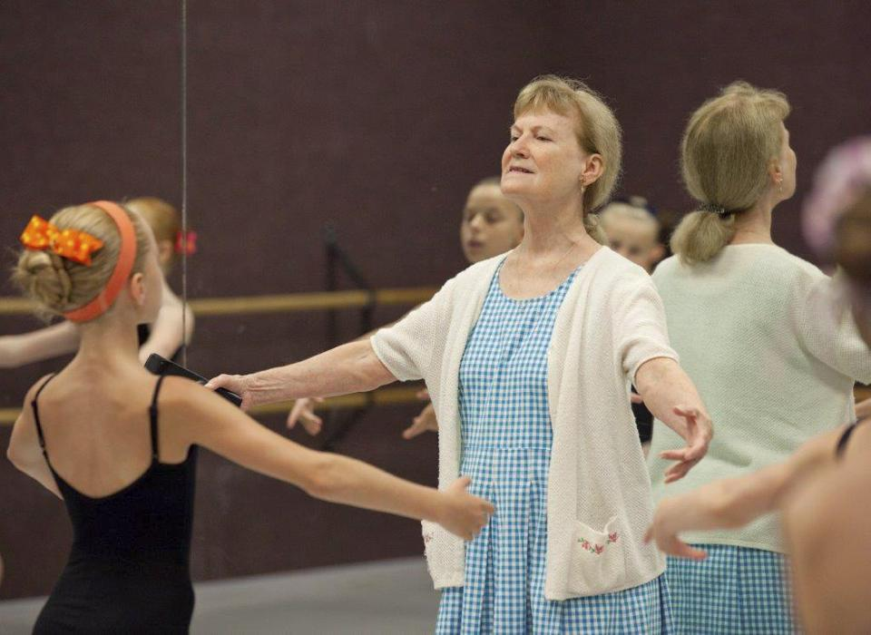 Ms. Weary instructed students during the 2011 summer program at her school, Central Pennsylvania Youth Ballet.
