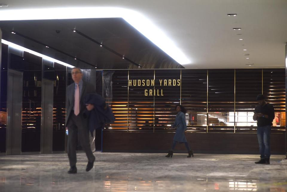 Hudson Yards Grill will seat 275 people.