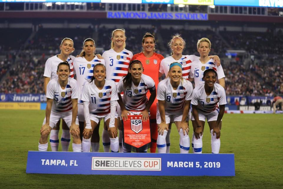 US women's team sues US Soccer over 'institutionalized gender discrimination'