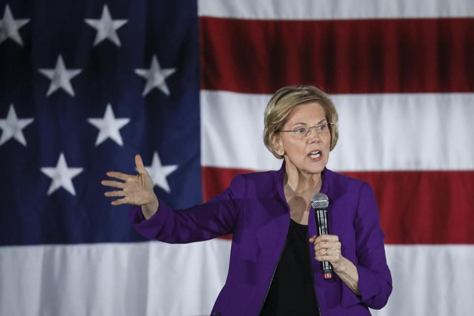 Facebook takes down then reinstates Elizabeth Warren campaign ads