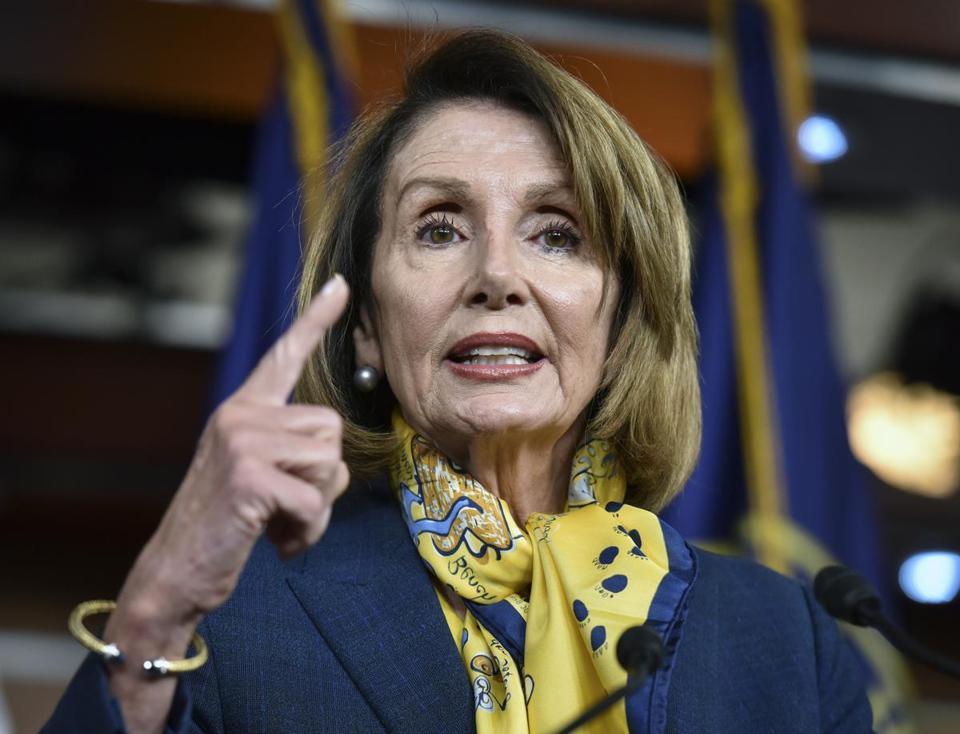 Pelosi Comes Out against Impeachment: 'He's Just Not Worth It'