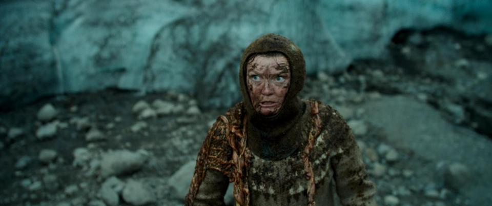 "Halldora Geirharosdottir in ""Woman at War."" MUST CREDIT: Magnolia Pictures"