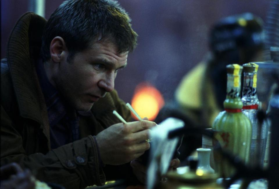 "Harrison Ford in ""Blade Runner: The Final Cut."""