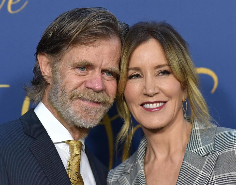 William H. Macy and Felicity Huffman have been linked to the college admissions scam.