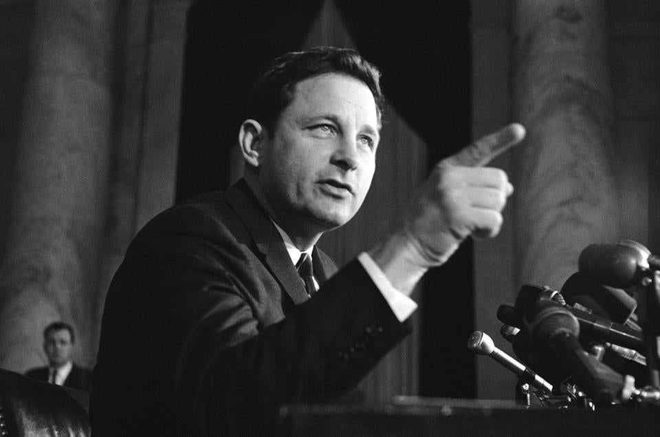 As chairman of the Senate constitutional amendments subcommittee, Mr. Bayh championed the federal law banning discrimination against women in college admissions and sports.
