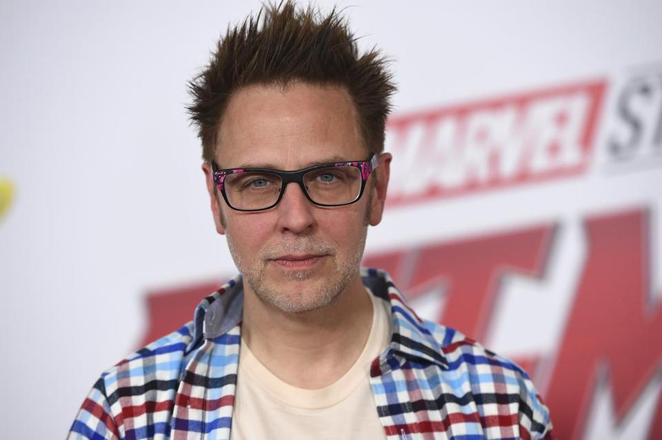 James Gunn was fired from the project last July over tweets from nearly a decade ago in which Gunn joked about subjects like pedophilia and rape.