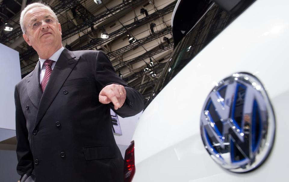 US Slaps Volkswagen, Ex-CEO Winterkorn With Lawsuit Over 'Dieselgate' Scandal