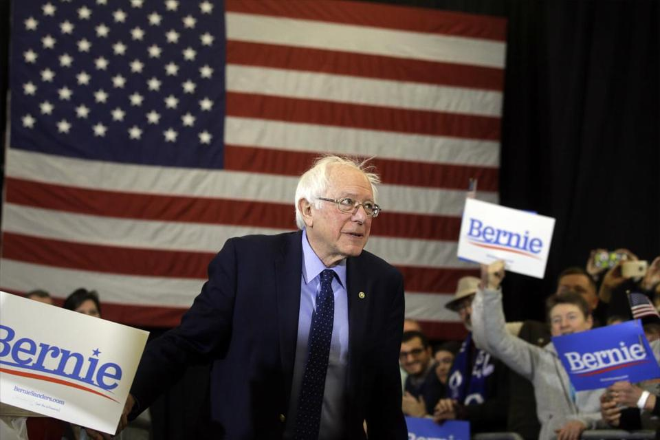 Bernie Sanders becomes first White House candidate ever to unionize campaign