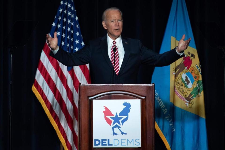 Biden's Speech at State Dinner in Dover Hints at Presidential Campaign