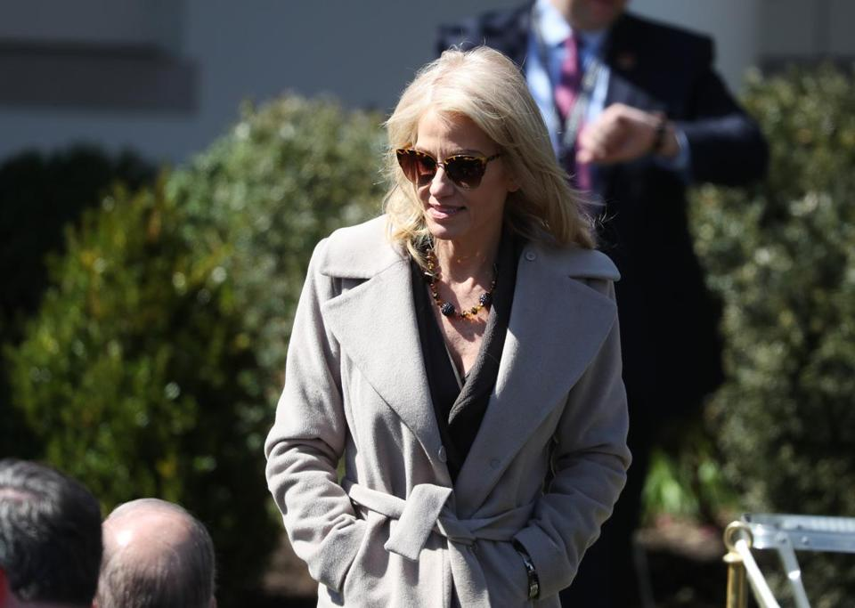 'Husband from hell!': Trump escalates feud with spouse of aide Kellyanne Conway