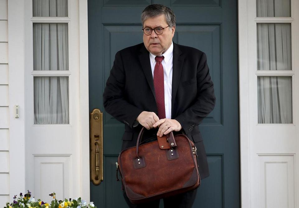 William Barr isn't required to tell lawmakers more than basic facts about the report.