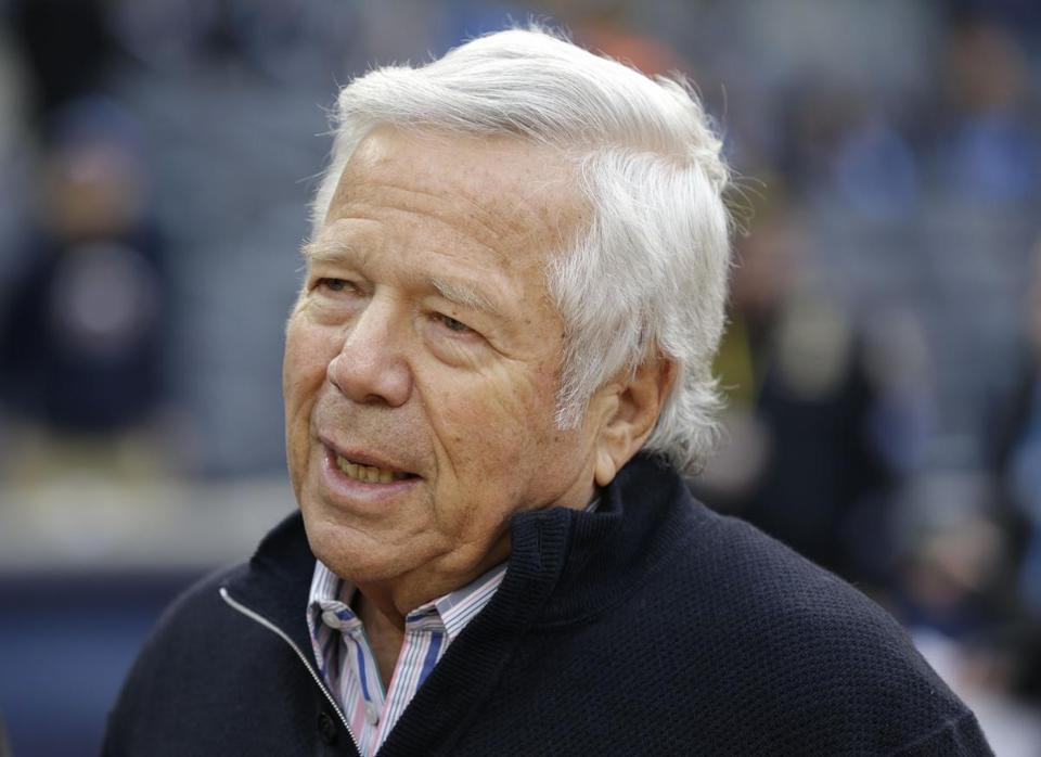 Robert Kraft pleads not guilty in solicitation of prostitution case in Florida