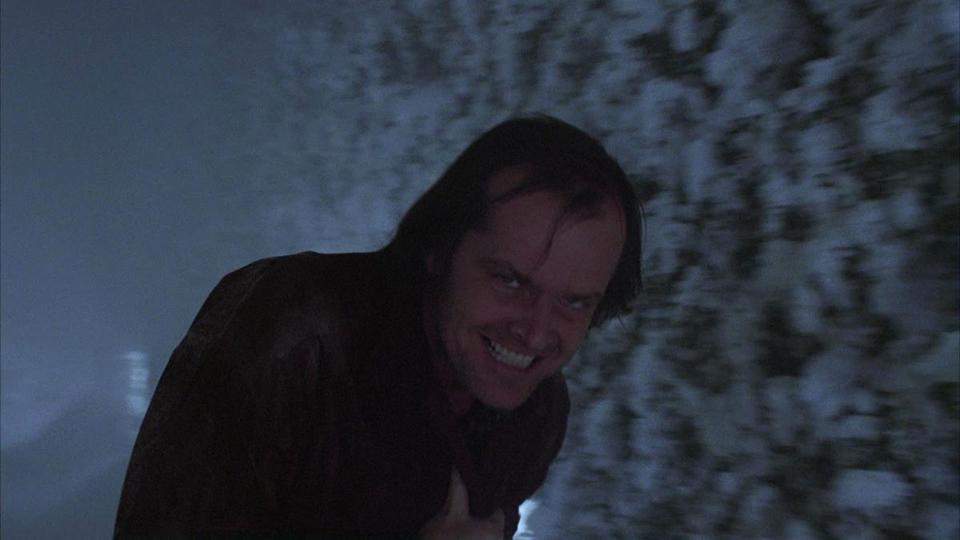 "Jack Nicholson at the maze in ""The Shining."" The hotel's hedge maze is a reference to the myth of the Minotaur, Kubrick theorists claim, in ""Room 237,"" directed by Rodney Ascher. PHOTO CREDIT: Warner Brothers 19room"