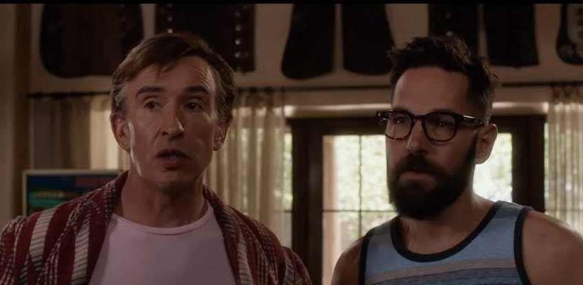 "Steve Coogan and Paul Rudd in ""Ideal Home."""