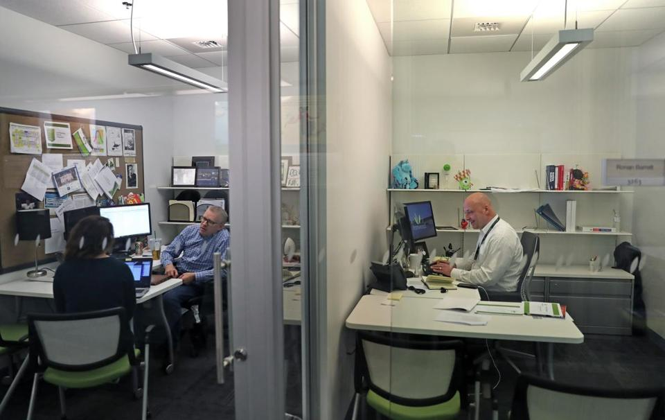 Cyclerion Therapeutics spun out of Cambridge's Ironwood Pharmaceuticals (offices pictured here).
