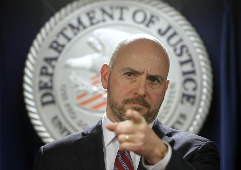US Attorney Andrew Lelling