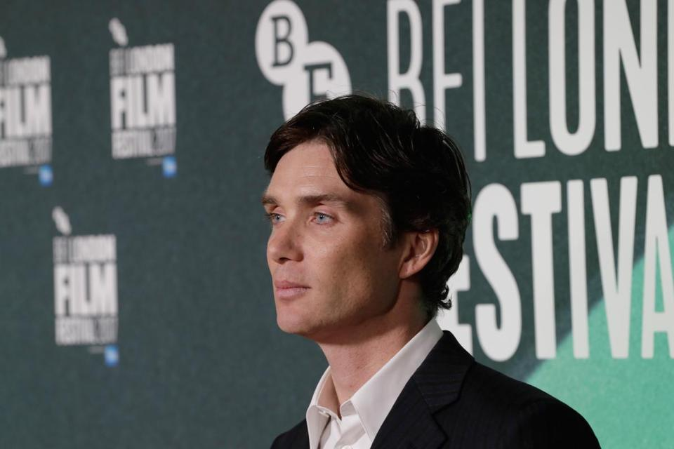 "LONDON, ENGLAND - OCTOBER 10: Cillian Murphy attends the UK Premiere of ""The Party"" during the 61st BFI London Film Festival on October 10, 2017 in London, England. (Photo by John Phillips/Getty Images for BFI)"