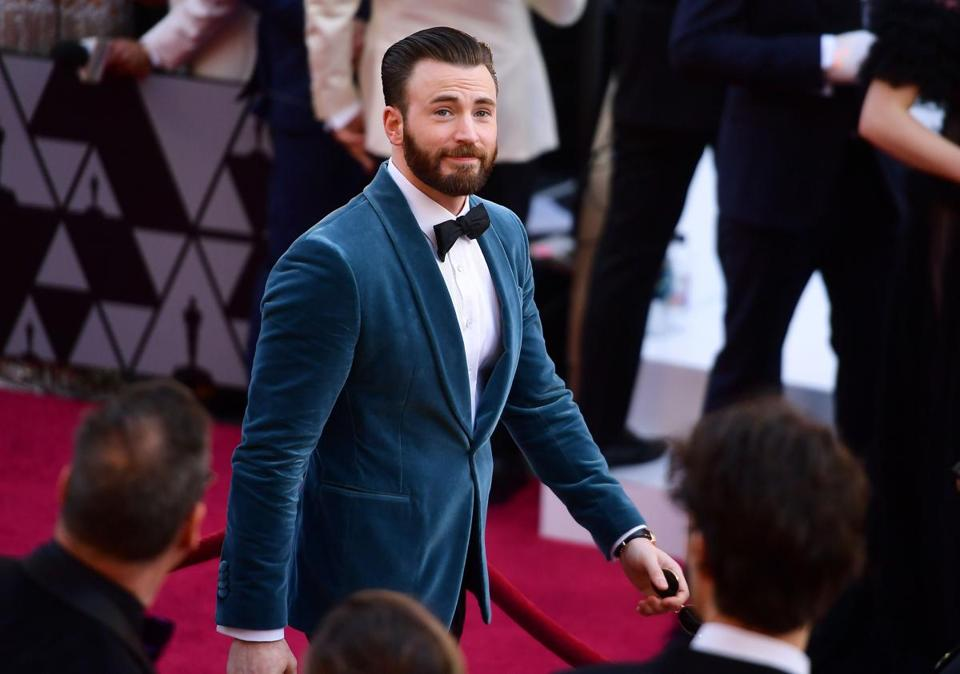 HOLLYWOOD, CALIFORNIA - FEBRUARY 24: Chris Evans attends the 91st Annual Academy Awards at Hollywood and Highland on February 24, 2019 in Hollywood, California. (Photo by Matt Winkelmeyer/Getty Images)