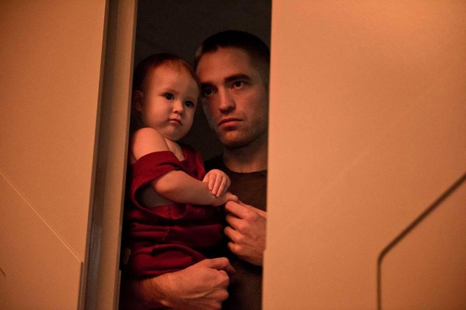 "Robert Pattinson in a scene from ""High Life."""
