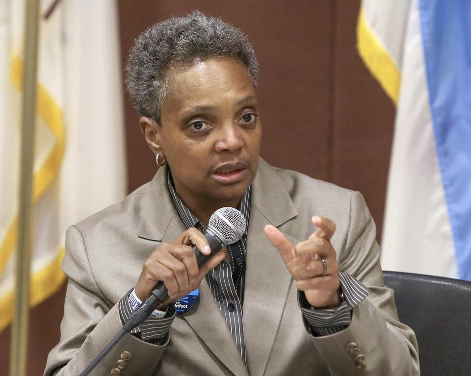 Lori Lightfoot to Become Chicago's 1st Black Woman Mayor