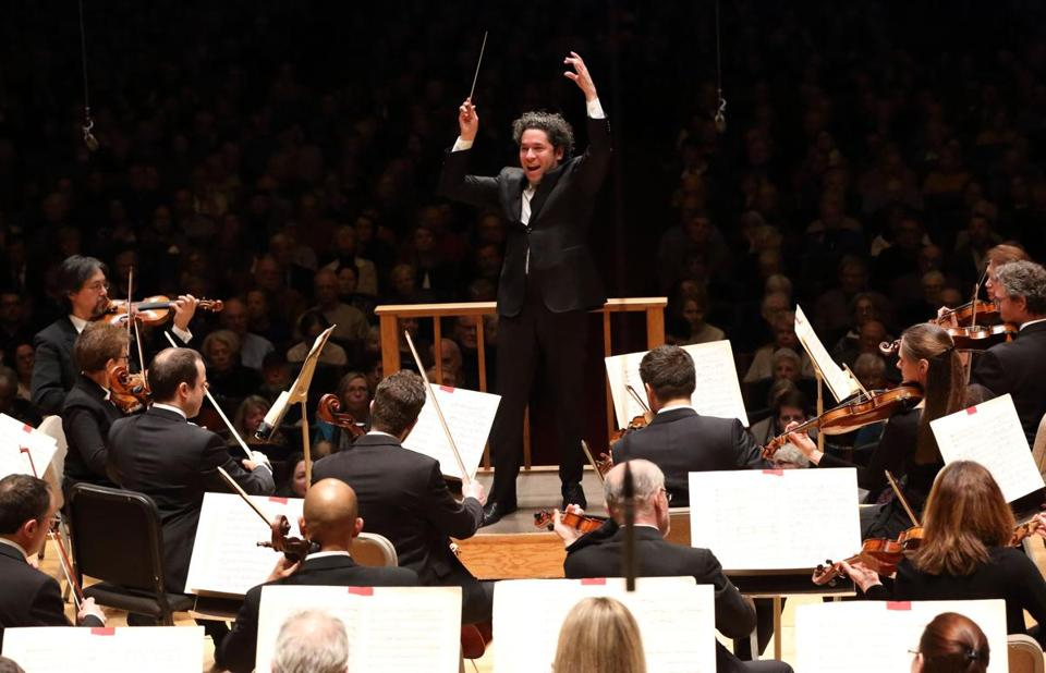 "Gustavo Dudamel leads the BSO in Stravinsky's ""Rite of Spring."""