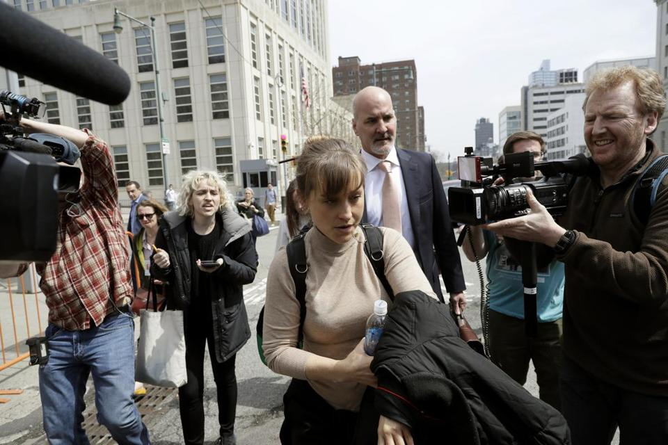 Actress Allison Mack pleads guilty to charges in Nxivm 'sex cult' case