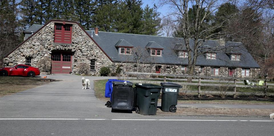 04/11/2019 Milton Ma - Exterior of Home at 1421 Canton Avenue .Jonathan Wiggs /Globe StaffReporter:Topic: