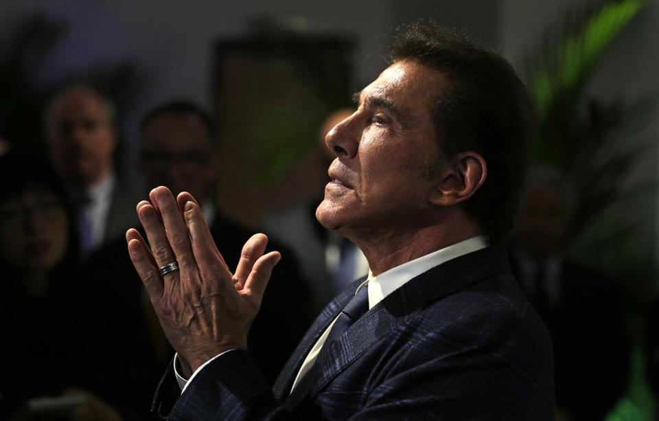 The Boston Globe wants MA  to force out Wynn Resorts CEO