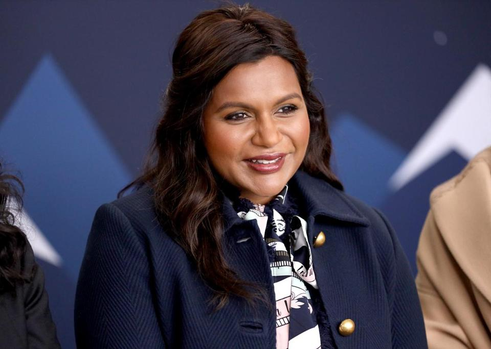 Mindy Kaling of 'Late Night' attends The IMDb Studio at Acura Festival Village on location at the 2019 Sundance Film Festival in Park City, Utah.