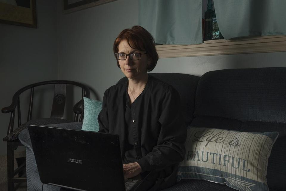 Kelly Povroznik of Weston, W.Va., teaches an online college course so hampered by unreliable connections that she has had to drive a half-hour to her brother's place just to enter grades into a database.