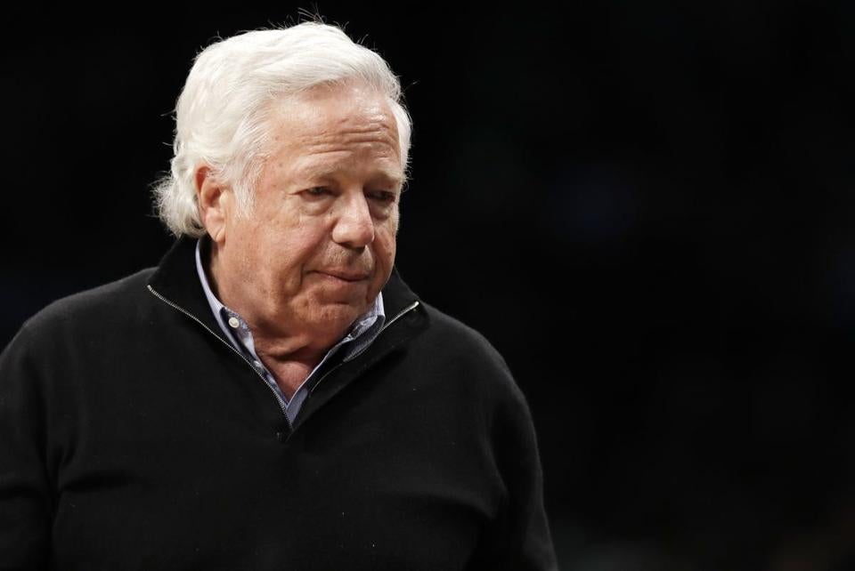 Judge blocks release of surveillance video in Robert Kraft solicitation case