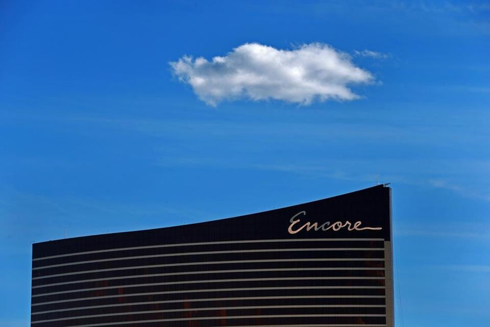 4-16-19: Everett, MA: The Encore Casino in Everett is pictured. (Jim Davis /Globe Staff).