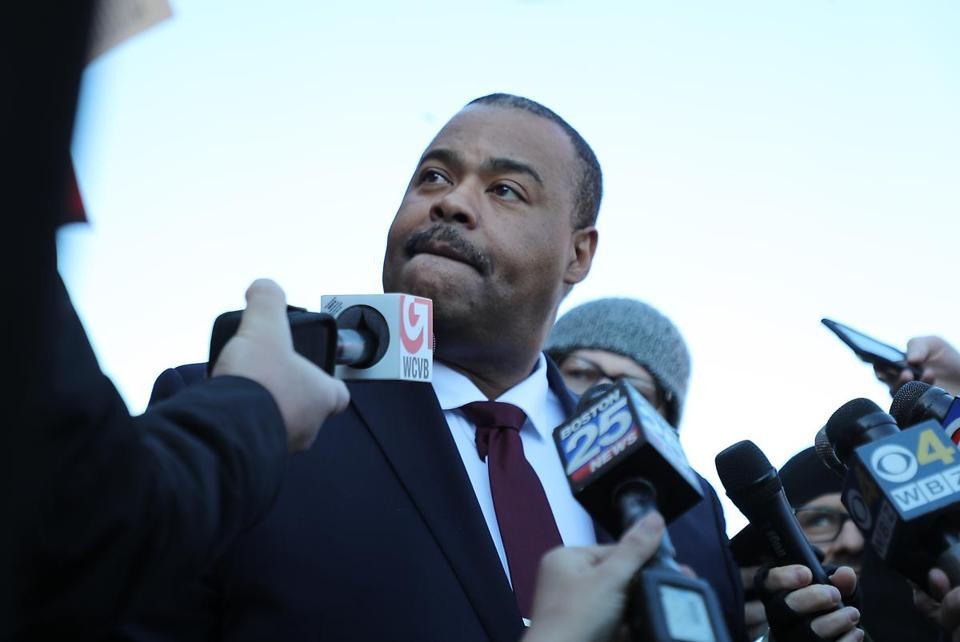 Commissioner William Gross, appointed last year as the first black leader of the city's police force, rebutted any assertion that the department is hostile to women.