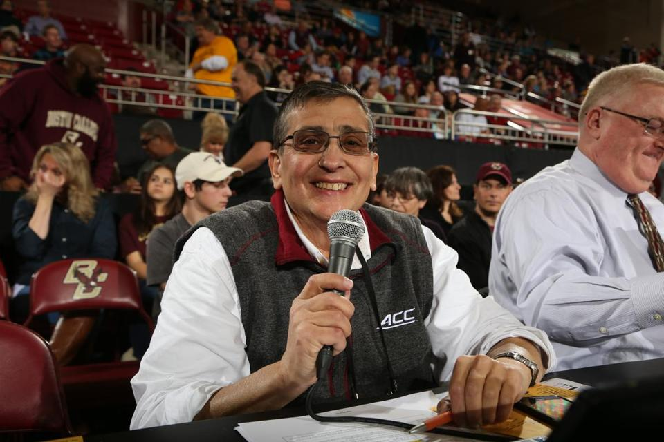 Since 2001, Mr. Jick had been the BC men's and women's basketball announcer.