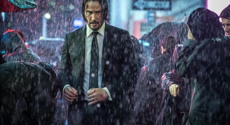 "Keanu Reeves in ""John Wick: Chapter 3 — Parabellum."""
