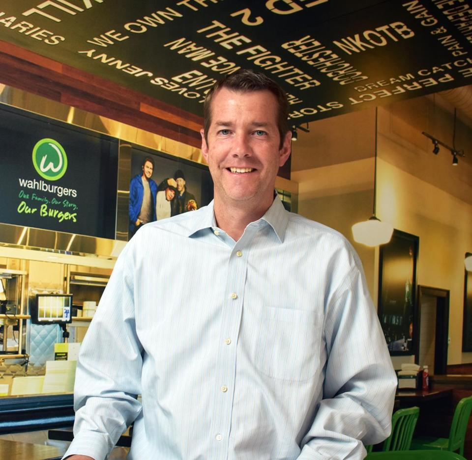 Patrick Renna has been running Wahlburgers since last June on an interim basis.