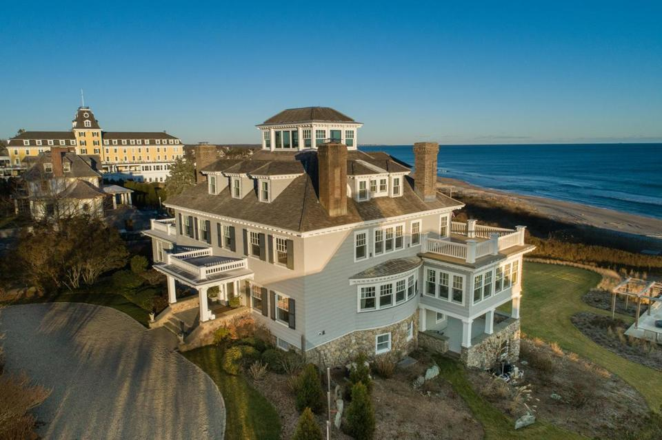 16nameswatchhill - This home at 10 Bluff Ave. in Westerly, R.I. happens to be just down the street from Taylor Swift's mansion. It's listed at $18.9 million. (Lila Delman Real Estate)