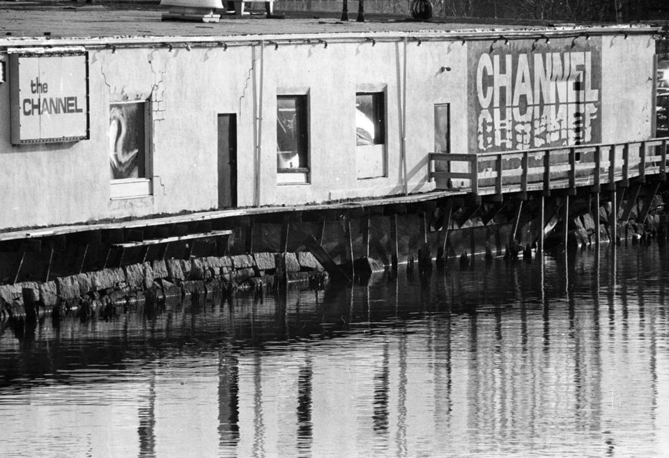 An exterior view of The Channel nightclub in Boston on Jan. 31, 1990.