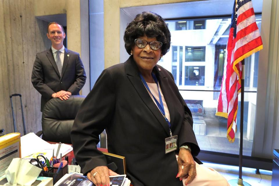 Boston City Councilor Althea Garrison and chief of staff Mark Murphy's partnership has at times rankled her council colleagues.