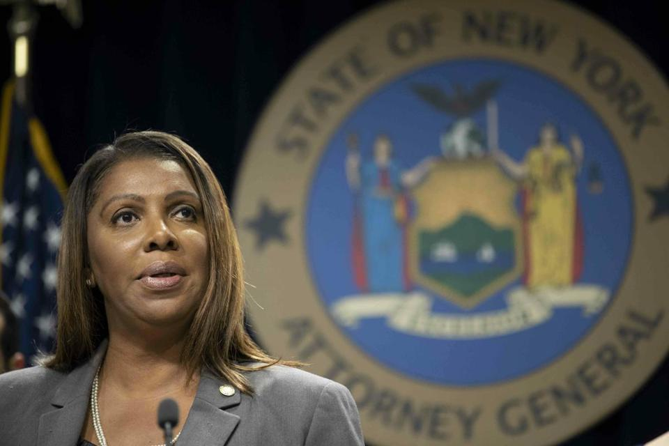 New York Attorney General Letitia James said a merger would hurt consumers.