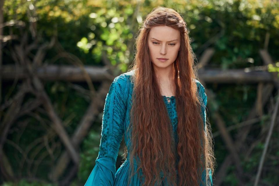 "Daisy Ridley plays the title role in ""Ophelia,"" a reimagining of Shakespeare's ""Hamlet."""